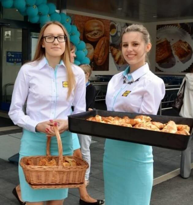 Akcja promocyjna dla sieci Lidl – degustacje, sampling podczas otwarcia nowych sklepów