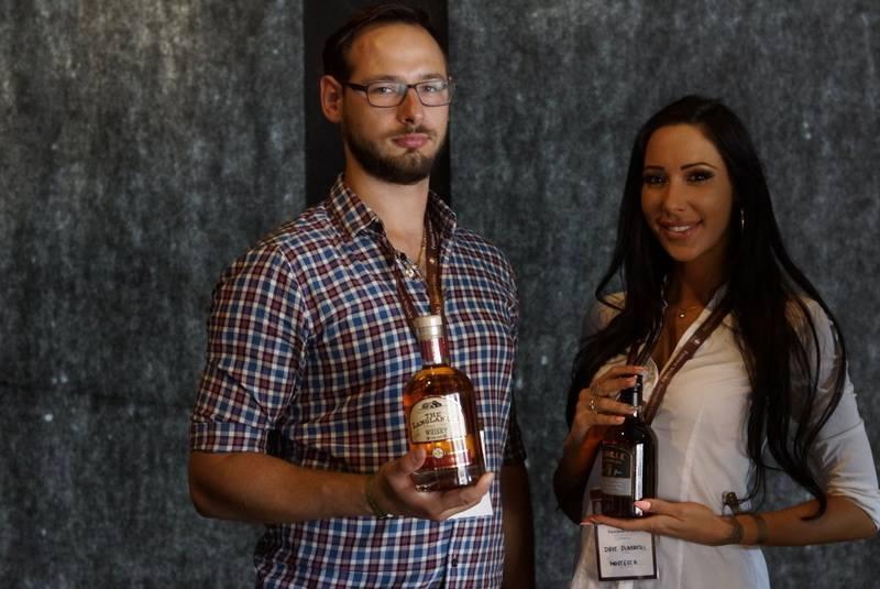 Promocja marki Mazurskie Miody podczas Festiwalu Whisky w Jastrzębiej Górze